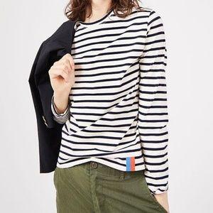 Kule Striped Long Sleeve Tshirt